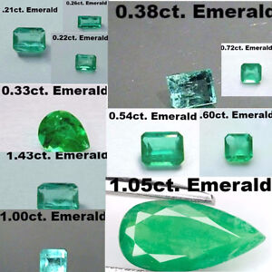 LOOSE GEMSTONES EMERALDS