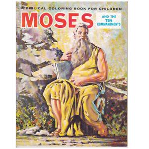 Moses and the Ten commandments Coloring Book