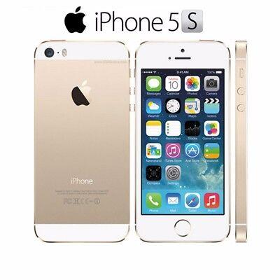Apple iPhone 5S 16/32/64GB Factory Unlocked 4G LTE iOS WiFi 8MP Smartphone *New*
