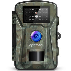 """APEMAN Trail Camera 12MP 1080P 2.4"""" LCD Game&Hunting Camera with"""