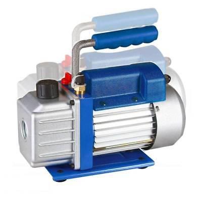 1 Stage Rotary Vane Vacuum Refrigerant Pump AC HVAC 4CFM 1/3HP Air Conditioning