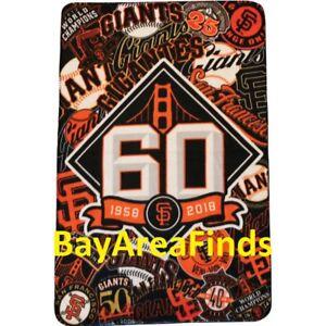 San Francisco Giants 60th Anniversary Blanket 7/14/2018 SGA