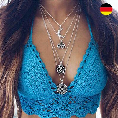 Halsketten für Frauen in Gold und Silber (Gold Ketten Frau)