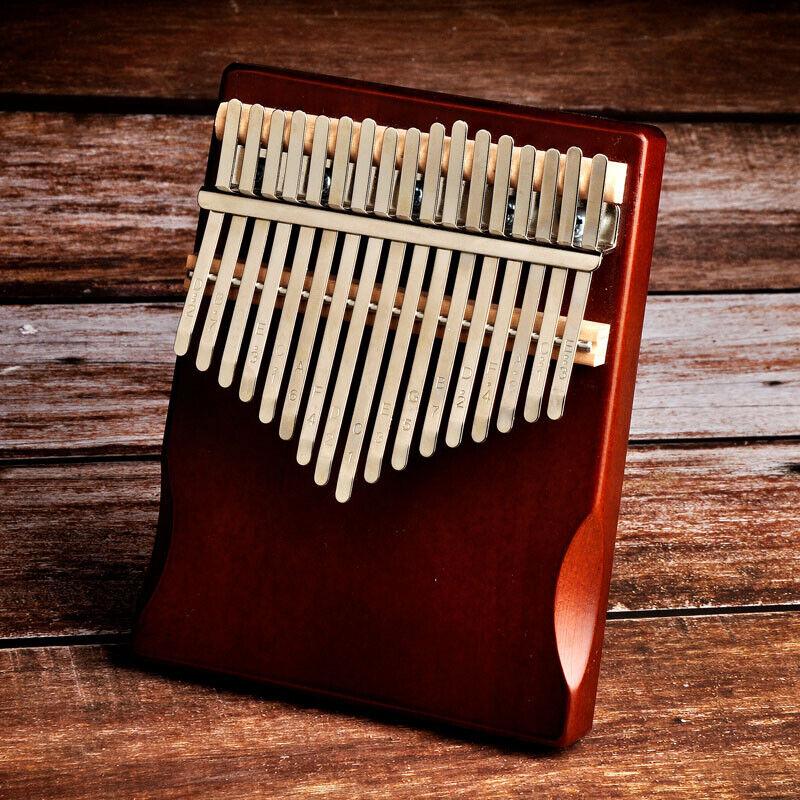 17 Keys Kalimba Solid Wood Material Thumb Finger Hand Piano Sanza Mbira Likembe