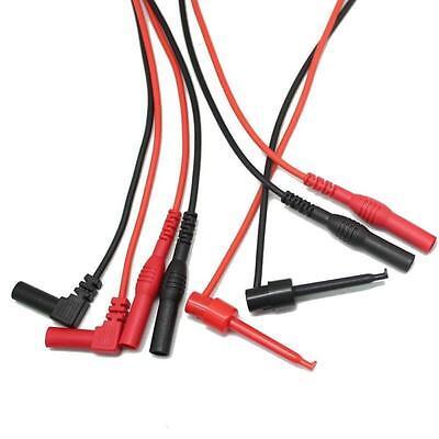 Aidetek Teat Leads For Fluke Extech Tl809 Electronic Test Lead Kit Tlp20155