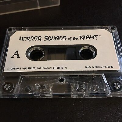 Topstone's HORROR SOUNDS OF THE NIGHT: RARE VINTAGE HALLOWEEN Cassette (Halloween Sounds Of The Night)