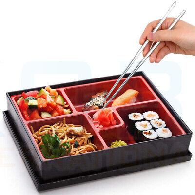 Bento Box Japanese Lunch Box Reusable Chopsticks Rice Sushi Catering UK Bento Sushi Box