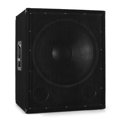 [B-WARE] OMNITRONIC BX-1850 PA SUBWOOFER 45CM DJ BASS BOX 1200W, gebraucht gebraucht kaufen  Berlin