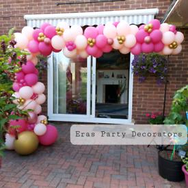 Balloon garland Balloon arch party decor event décor Balloon decorator