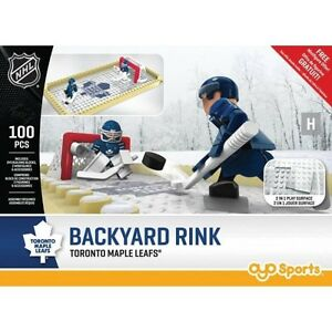 OYO Backyard Rink - Toronto Maple Leafs at JJ Sports!