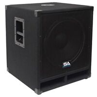 Seismic audio passive subwoofer