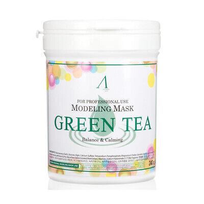 Powder Pack ([ANSkin] Modeling Mask Powder Pack - 240g / Green Tea  #Korean Cosmetics)