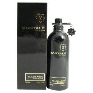 Black Aoud Unisex by Montale Eau de Parfum Spray 3.3 oz - New in Box