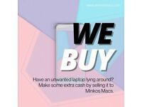 SELL YOUR MAC*WE BUY OR PART EXCHANGE ANY APPLE MAC DEVICE LAPTOP COMPUTER*INSTANT PAYMENT*SAME DAY*
