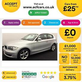 BMW 118 ES FROM £25 PER WEEK !