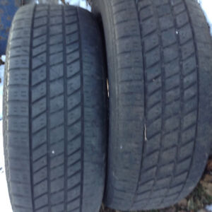 2 RIMS with 225/60/16Goodyear tires