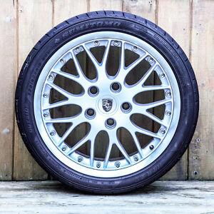 Porsche BBS Sport Classic II Wheels & Tires