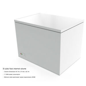 C4P9CF 9 cu.ft. 255 Liter 12-24V Off-grid Chest Freezer