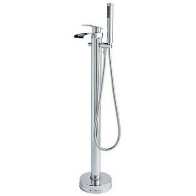 Hudson Reed Rhyme Freestanding Bath Tap With Shower Attachment