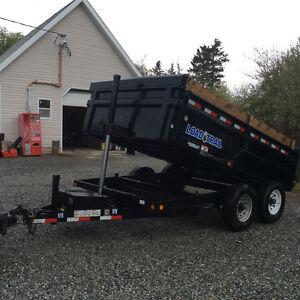 14000 lb Dump Trailer