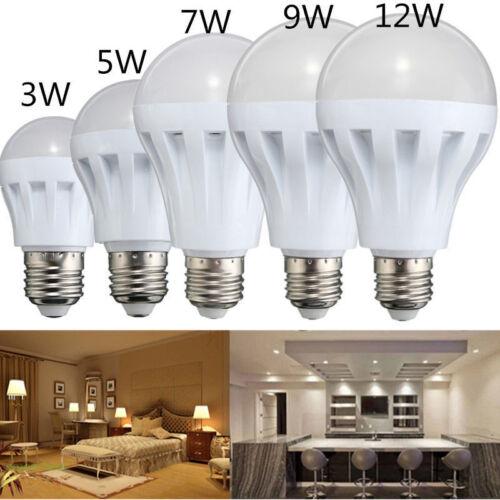 Details about LED Auto PIR Sound Sensor Bulb Energy Light Bulb Pear Lamp  Home Tools UK