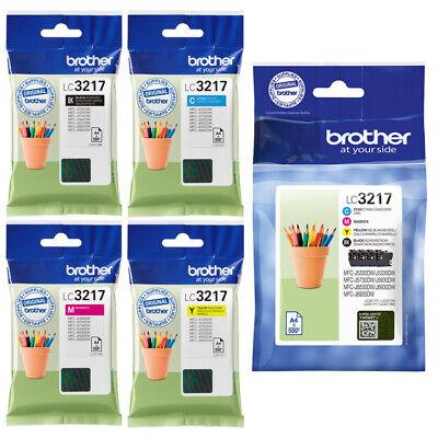 Farbe Brother Tinte (Original BROTHER LC-3217 TINTE PATRONEN MFC J5330DW J5335DW J5730DW J5930DW SET)