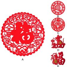 2020 Chinese New Year Of Rat Spring Festival Wall Glass ...