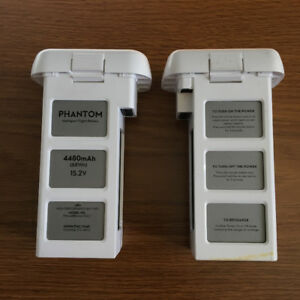 2 x Phantom Pro 3 Batteries (Used but very low hours).