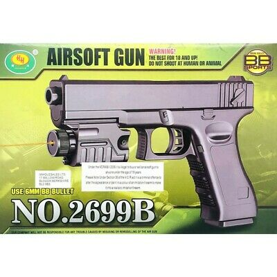Spring Power (uses BB-Bullets) High performance BB-sports  toyGun  No.2699B