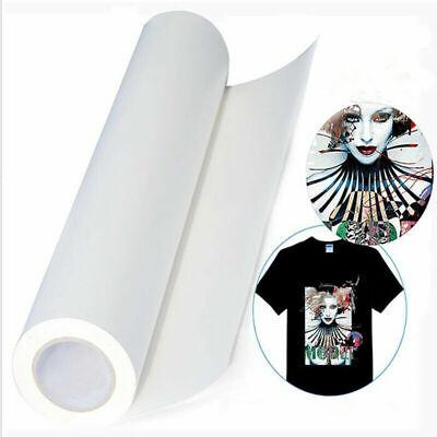 5pcs A4 Sheets Inkjet Printable Heat Transfer Paper Iron On Press Dark T-shirt