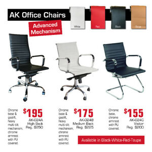 Commercial Quality Office Chairs Now On Clearance 20-30% OFF!