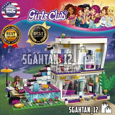 760PCS Pop Star Livi's House Building Block Friends for Girls Figures NONE LEGO