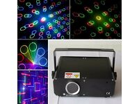 Mini 1W RGB laser fireworks SD Card beam animation for disco party/wedding lighting projector