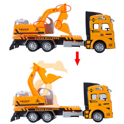 Car Toys For Kids (Toys KIDs Boys Excavator Truck Car Toddler2 3 4 5 6 7 8 9 Year age Old Xmas)