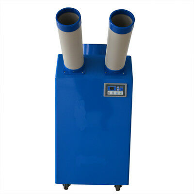 New! 2T Ton Industrial Portable Spot Cooler Air Conditioner 220V AC 18,766 BTU