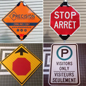 Traffic Signs, Construction Signs, Parking Lot Signs