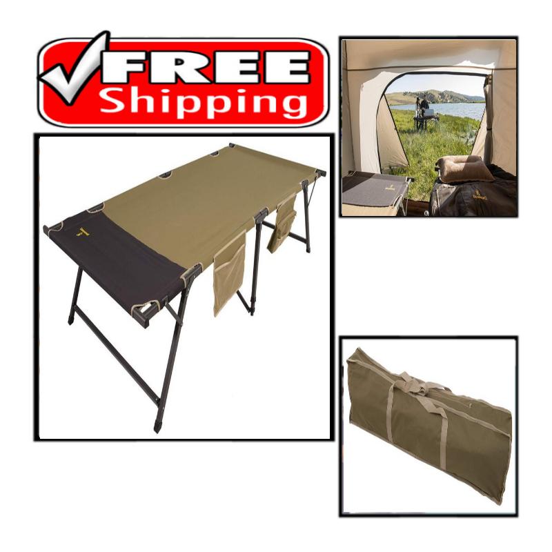 Browning Camping Titan Cot XP Khaki 600D polyester Powder co
