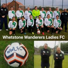 Ladies Football Team in North London