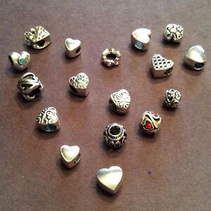 Valentine's Day Charms (Pandora Compatible)
