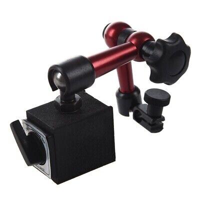 Adjustable Magnetic Gauge Stand Base Holder Digital Level Dial Test R6u3