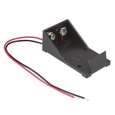 Batteriehalter mit Anschlußkabel 9 V Blockbatterie 9 Volt Batterie Batteriefach