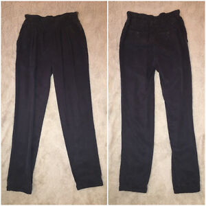 SIZE 0 WILFRED HIGH WAISTED PANTS