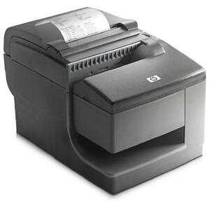 HP POS Hybrid Thermal Printer with MICR - Dual Function - Thermal printer - Impact slip printer (Powered USB Cable)