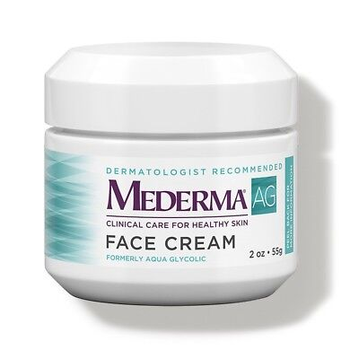 Mederma AG Face Cream restore moisture balance w Glycolic Acid removes dead skin Mederma Skin Care Cream