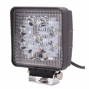 Bar Led light spot vtt 4x4 off road lumière tracteur deneigement