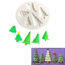 Christmas Tree Silicone Fondant Cake Mold Chocolate ...
