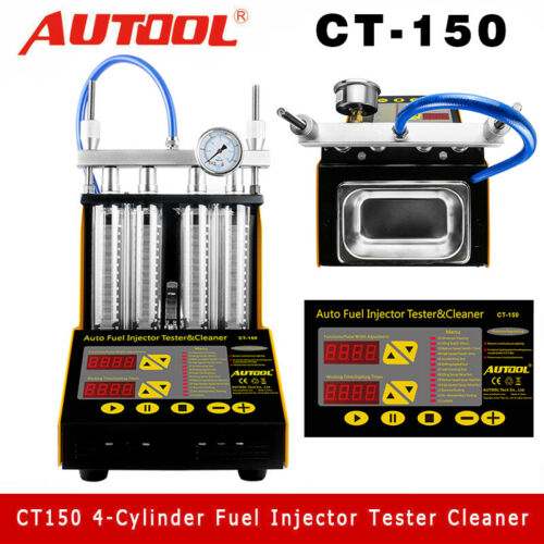 Miraculous Details About Autool Ct150 Gasoline Ultrasonic Fuel Injector Tester Cleaner For Car Motorcycle Andrewgaddart Wooden Chair Designs For Living Room Andrewgaddartcom