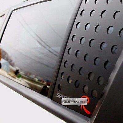 C Pillar Window Glass Sports Plate Molding R Logo For KIA 2011-2016 Sportage R