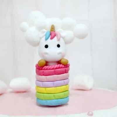 Einhorn Unicorn Regenbogen Topper Kinder Geburtstag Torte Dekoration Nr 102