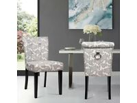 Corisande Upholstered Dining Chair (Set of 2) selling at £120